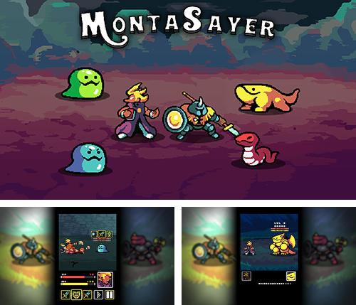 In addition to the game Tap 'n' slash for Android phones and tablets, you can also download Monta sayer for free.