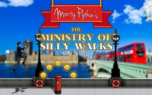 Monty Python's: The ministry of silly walks poster