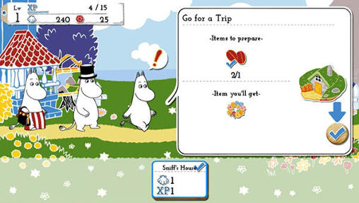 Screenshots von Moomin: Welcome to Moominvalley für Android-Tablet, Smartphone.