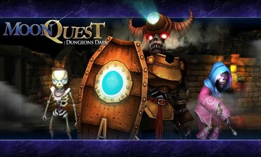 Moon quest: Dungeons dark poster