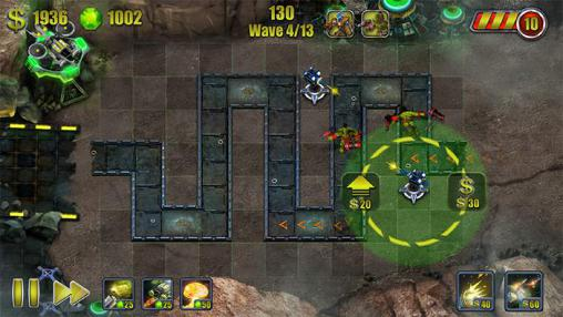 Screenshots von Moon tower attack für Android-Tablet, Smartphone.