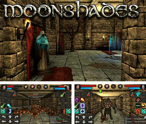 Moonshades: Dungeon crawler RPG
