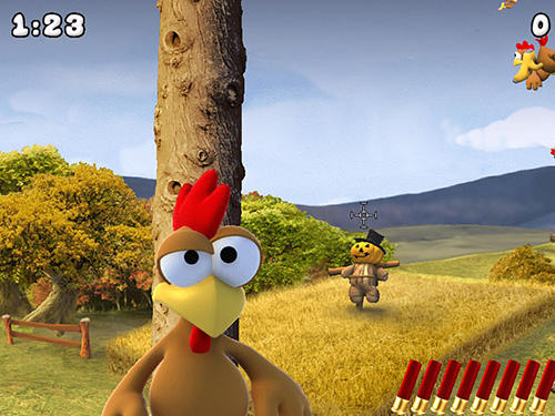 Moorhuhn crazy chicken remake screenshot 2