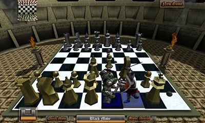 Screenshots von Morph Chess 3D für Android-Tablet, Smartphone.