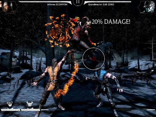 Screenshots von Mortal Kombat X für Android-Tablet, Smartphone.