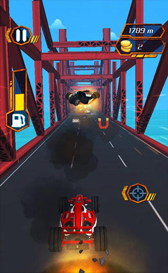 Screenshots of the Moto cop dash for Android tablet, phone.