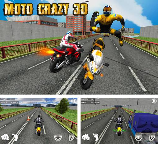 Racing moto by Smoote mobile for Android - Download APK free Moto crazy 3D
