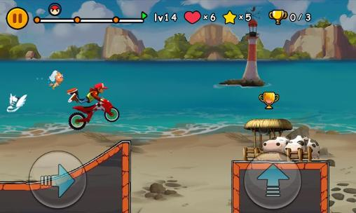 Screenshots do Moto extreme - Perigoso para tablet e celular Android.