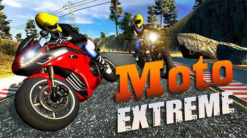 Moto extreme 3D poster