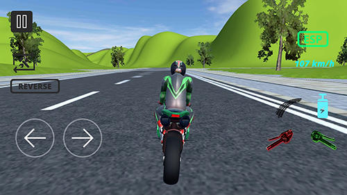 Screenshots von Moto extreme racing für Android-Tablet, Smartphone.