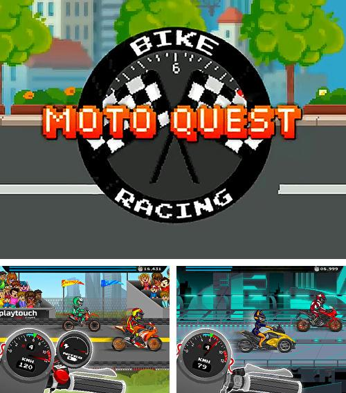 In addition to the game Wall kickers for Android phones and tablets, you can also download Moto quest: Bike racing for free.