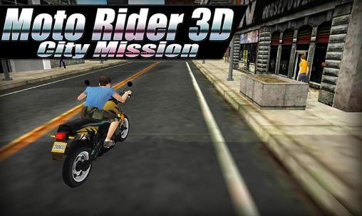 Descargar Moto Rider 3d City Mission Para Android Gratis El Juego