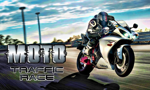 Moto traffic race poster