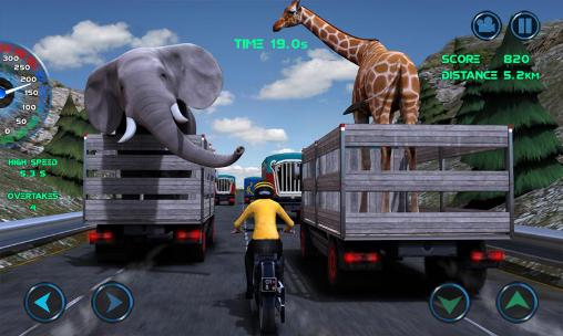 Moto traffic race screenshot 1