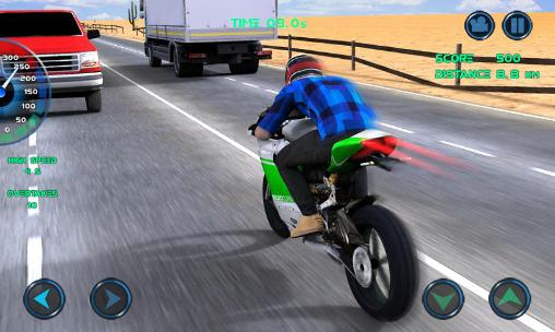 Moto traffic race screenshot 3