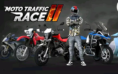 Moto traffic race 2 poster
