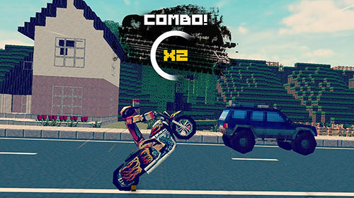 Гра Moto traffic rider: Arcade race на Android - повна версія.