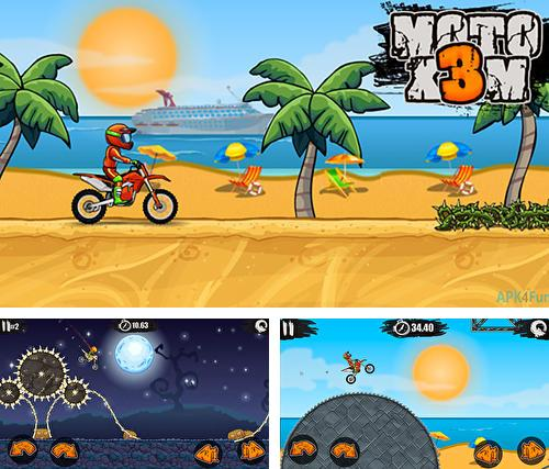 Moto X3M: Bike race game
