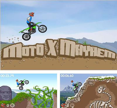 In addition to the game Mountain Moto for Android phones and tablets, you can also download Moto X Mayhem for free.