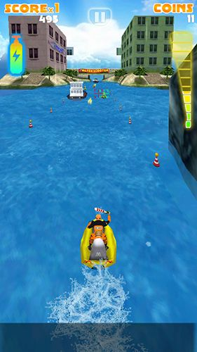 Мotoboat racing: Crash screenshot 1