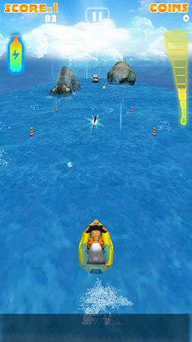 Мotoboat racing: Crash screenshot 2