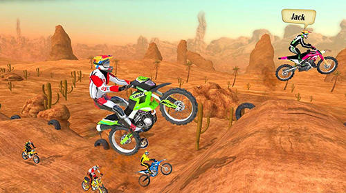 Screenshots do Motocross racing - Perigoso para tablet e celular Android.