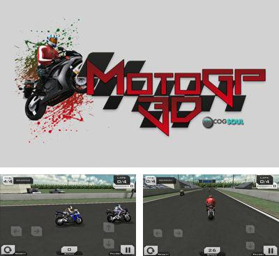 In addition to the game Extreme Biking 3D for Android phones and tablets, you can also download MotoGp 3D  Super Bike Racing for free.