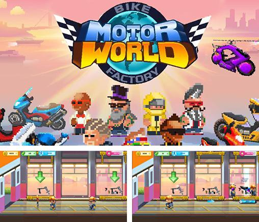 In addition to the game Motor world: Car factory for Android phones and tablets, you can also download Motor world: Bike factory for free.