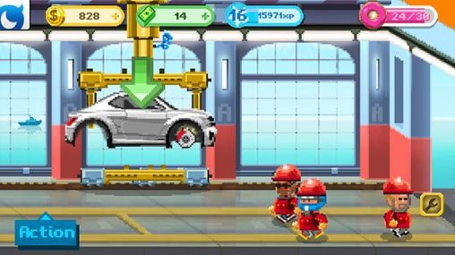 Download Motor world: Car factory Android free game.