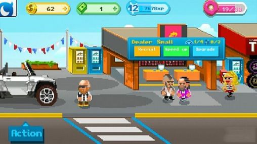 Screenshots von Motor world: Car factory für Android-Tablet, Smartphone.