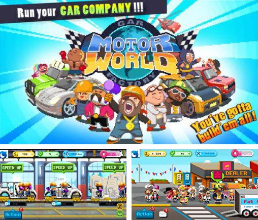 In addition to the game Die Noob Die for Android phones and tablets, you can also download Motor world: Car factory for free.