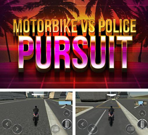 Motorbike vs police: Pursuit