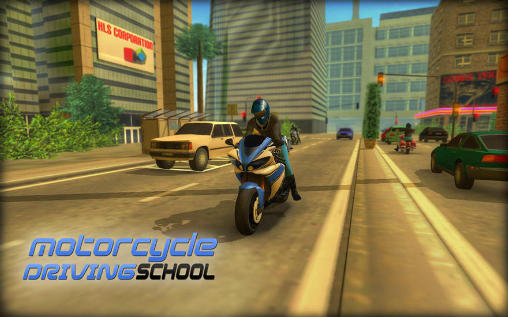 Motorcycle driving school