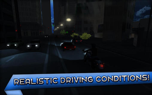 Геймплей Motorcycle driving school для Android телефону.