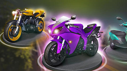 Motorcycle racing screenshot 1