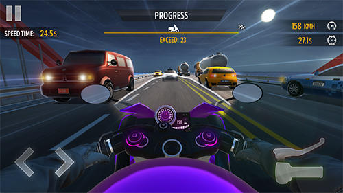 Motorcycle racing screenshot 2