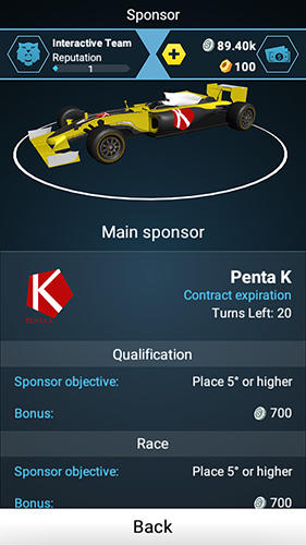 Screenshots von Motorsport master für Android-Tablet, Smartphone.