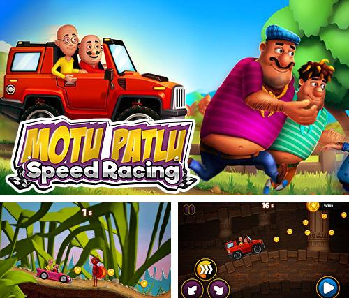 Motu Patlu speed racing