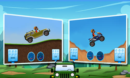 Jogue Mountain climb racing para Android. Jogo Mountain climb racing para download gratuito.