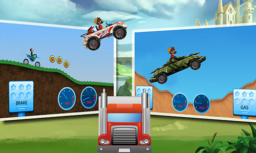 Screenshots do Mountain climb racing - Perigoso para tablet e celular Android.
