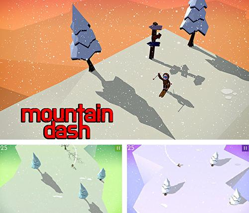Mountain dash: Endless skiing race