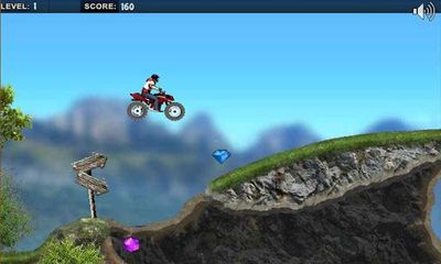 Screenshots of the Mountain Moto for Android tablet, phone.