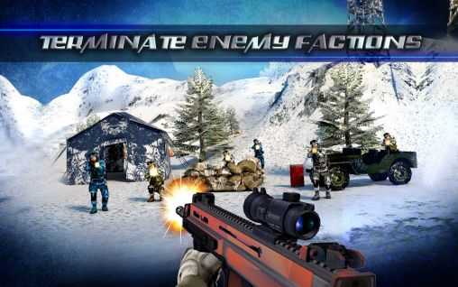 Jogue Mountain sniper 3D: Frozen frontier. Mountain sniper killer 3D para Android. Jogo Mountain sniper 3D: Frozen frontier. Mountain sniper killer 3D para download gratuito.
