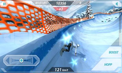 Screenshots von Mr. Melk Winter Games für Android-Tablet, Smartphone.