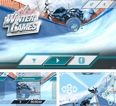 In addition to the game APO Snow for Android phones and tablets, you can also download Mr. Melk Winter Games for free.