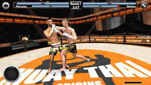Screenshots von Muay thai: Fighting origins für Android-Tablet, Smartphone.