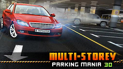 Multi-storey car parking mania 3D poster