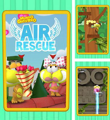 In addition to the game Boney The Runner for Android phones and tablets, you can also download Mundo Gaturro Air Rescue for free.
