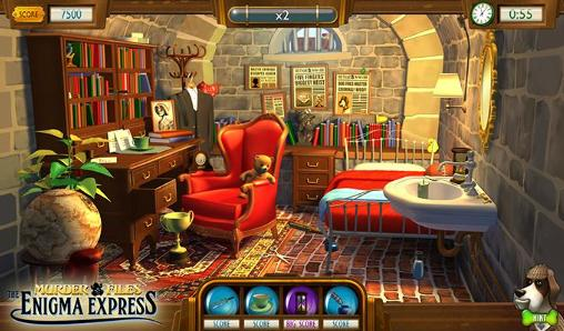 Murder files: The enigma express für Android spielen. Spiel Murder Files: Der Enigma Express kostenloser Download.