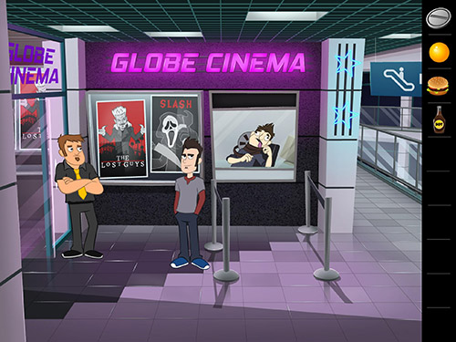 Screenshots of the Murder mall escape for Android tablet, phone.